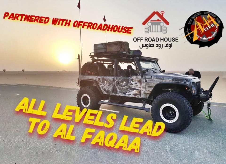 All Levels Lead to Al Faqaa Partnered with Offroad House (Fri 28/1:30 PM )