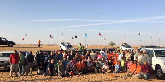 AD4x4 organised the 6th edition of its GPS hunt Event in Sweihan