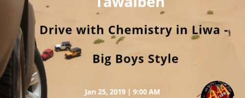 Drive with Chemistry  in Liwa with Tawalbeh -  Big boys style
