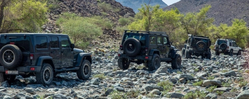 Northern Emirates Camping and Rock Crawling Trip